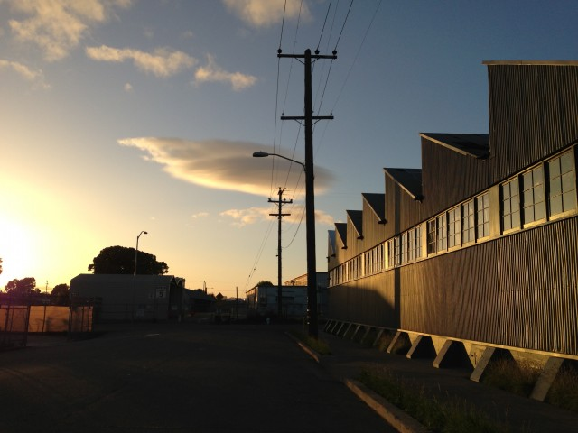 Norton Factory Studios at Sunset