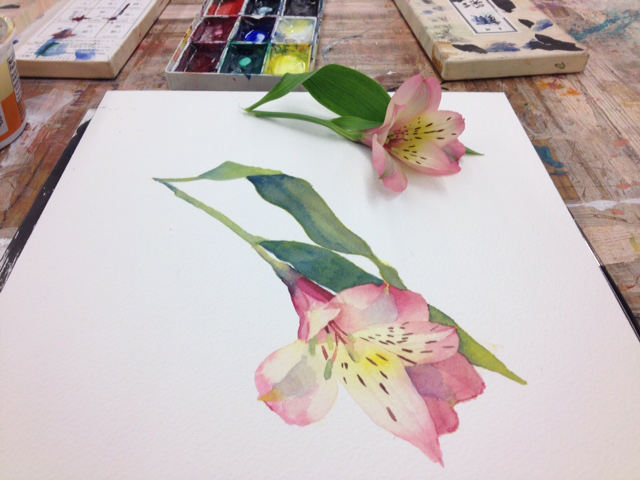 New Class: Watercolor Botanical Painting with Kim Bennett