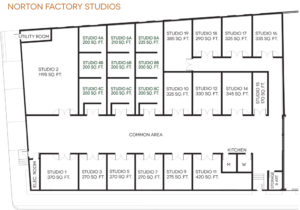 Norton Factory Studios Layout