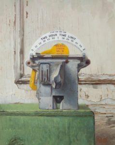 Elizabeth Zanzinger, Time Limit, Oil On Panel, 14 x 11 inches, 2016
